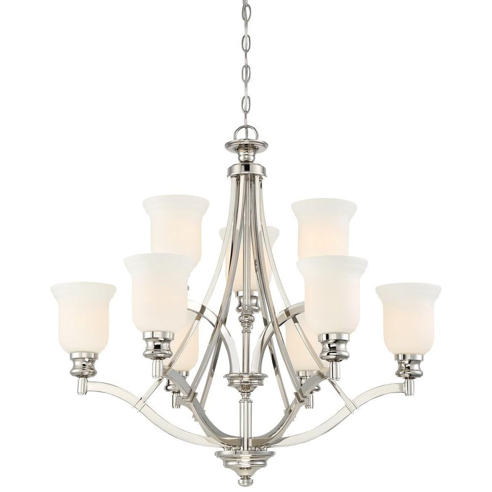 Best ideas about Minka Lavery Lighting . Save or Pin Minka Lavery Audreys Point 9 Light Polished Nickel Now.