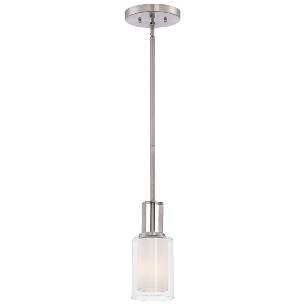 Best ideas about Minka Lavery Lighting . Save or Pin Minka Lavery Parsons Studio 1 Light Brushed Nickel Mini Now.