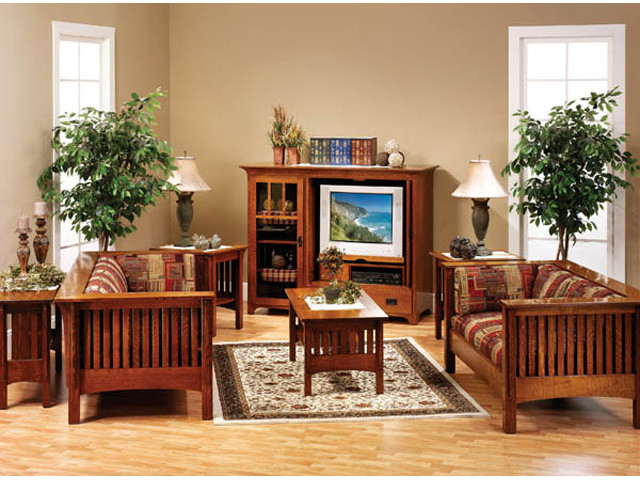 Best ideas about Mission Style Living Room Furniture . Save or Pin Mission Style Decorating Idea Now.