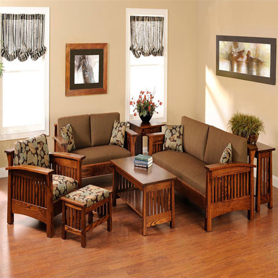 Best ideas about Mission Style Living Room Furniture . Save or Pin Guest room furniture ideas mission style living room Now.
