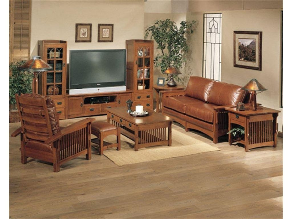 Best ideas about Mission Style Living Room Furniture . Save or Pin Craftsman Style Living Room Furniture [peenmedia Now.