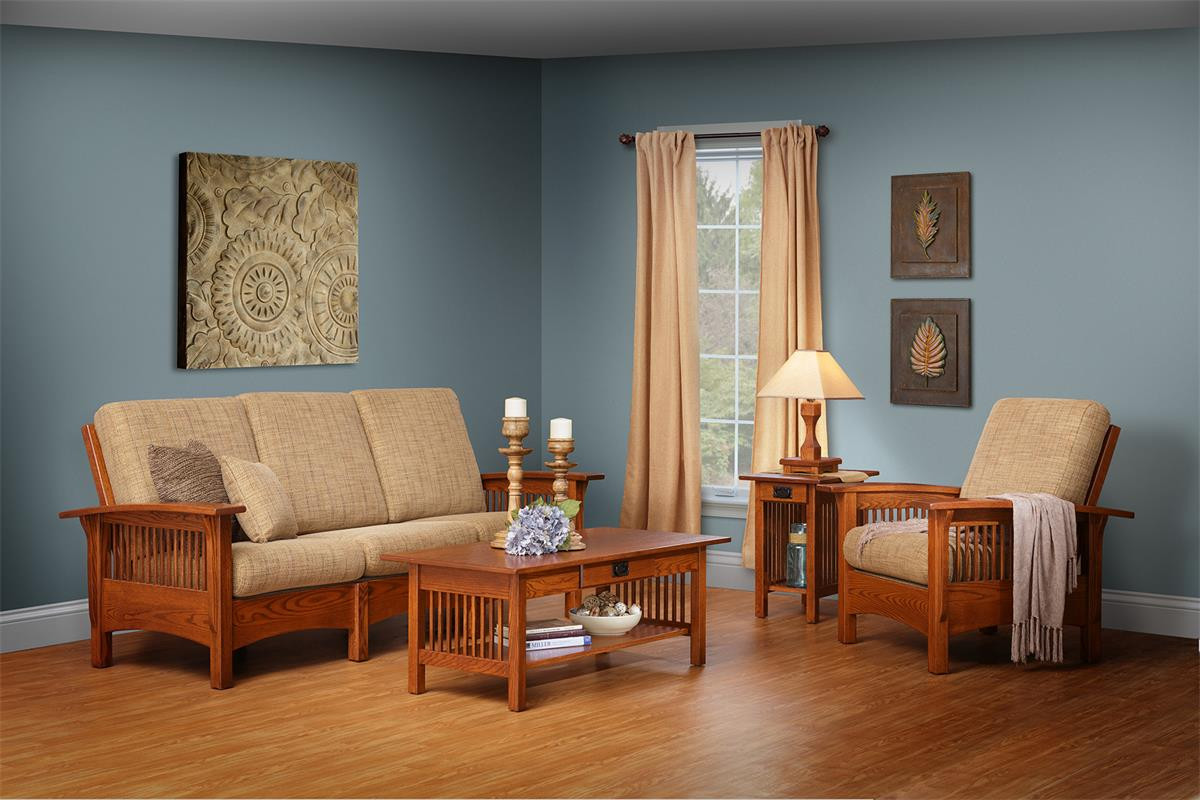 Best ideas about Mission Style Living Room Furniture . Save or Pin Mission Style Furniture by DutchCrafters Now.