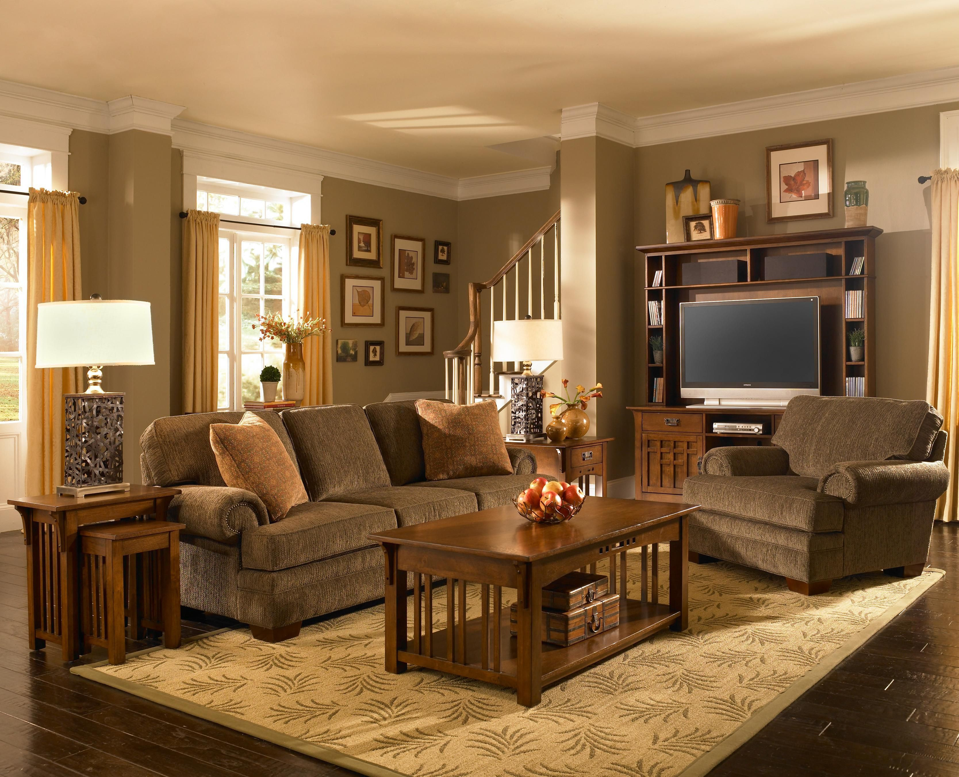 Best ideas about Mission Style Living Room Furniture . Save or Pin My dream living room I love mission style furniture Now.