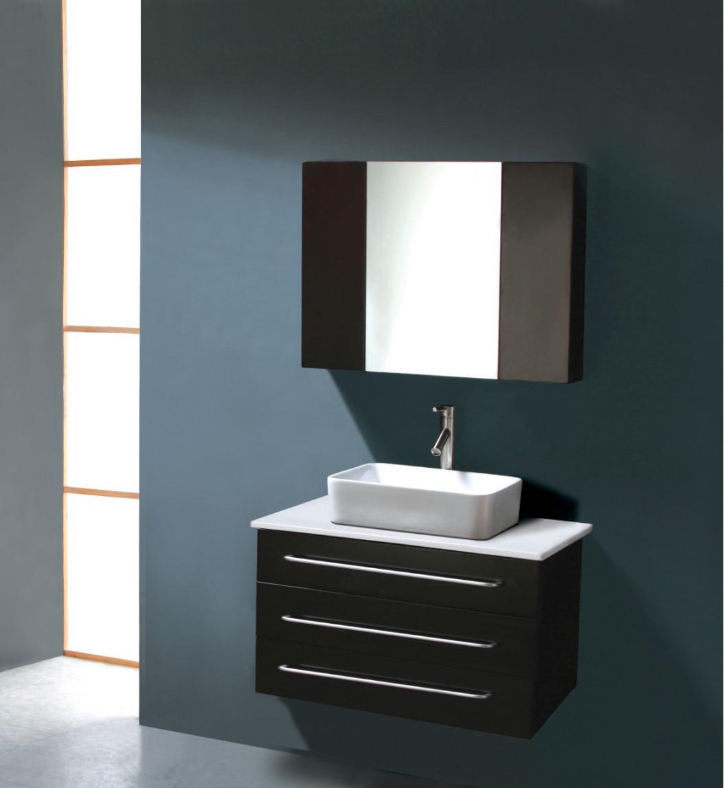 Best ideas about Modern Bathroom Vanities . Save or Pin Modern Bathroom Vanity Dimitrie Now.