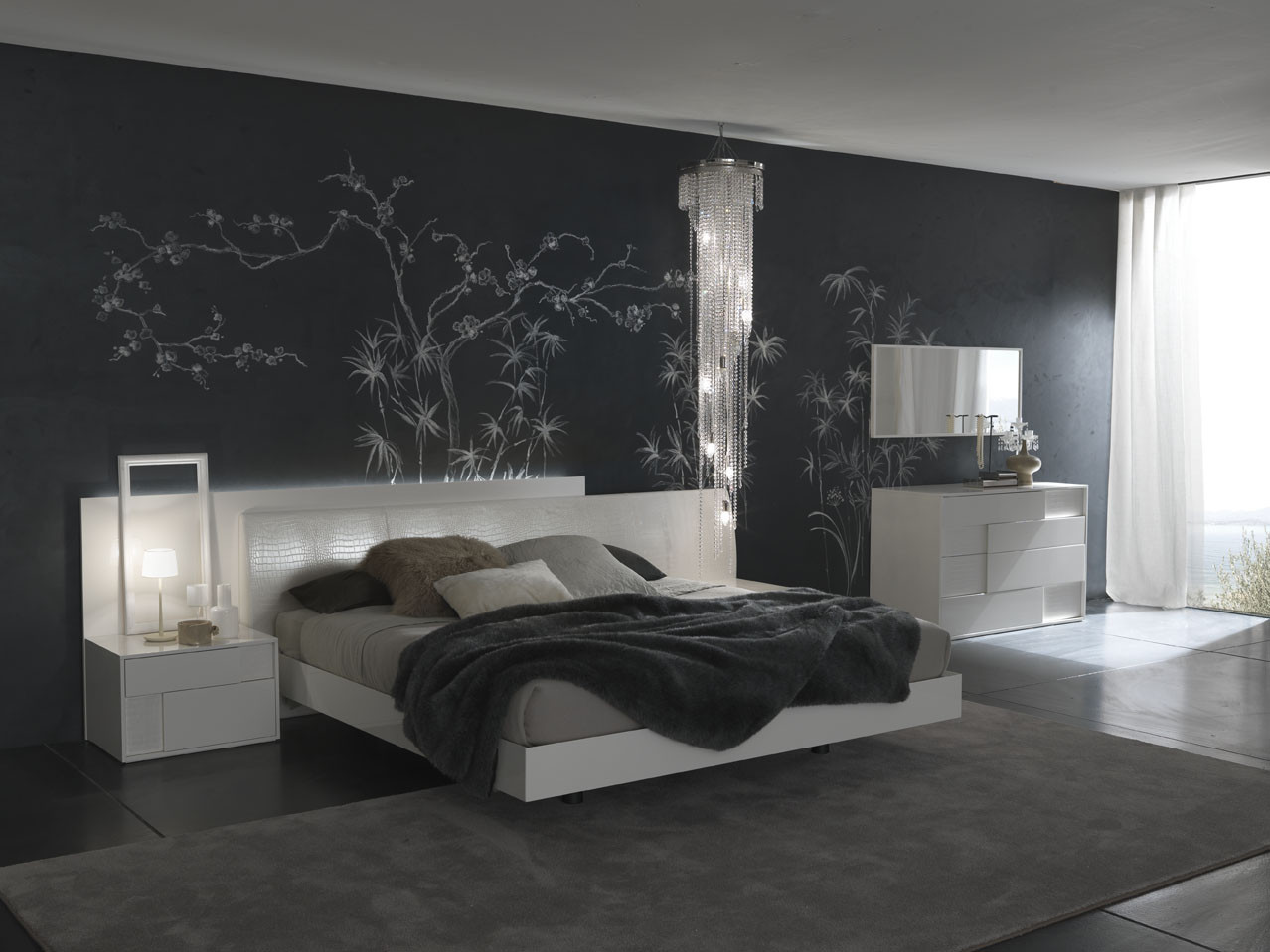 Best ideas about Modern Bedroom Furniture . Save or Pin Bedroom Decorating Ideas from Evinco Now.
