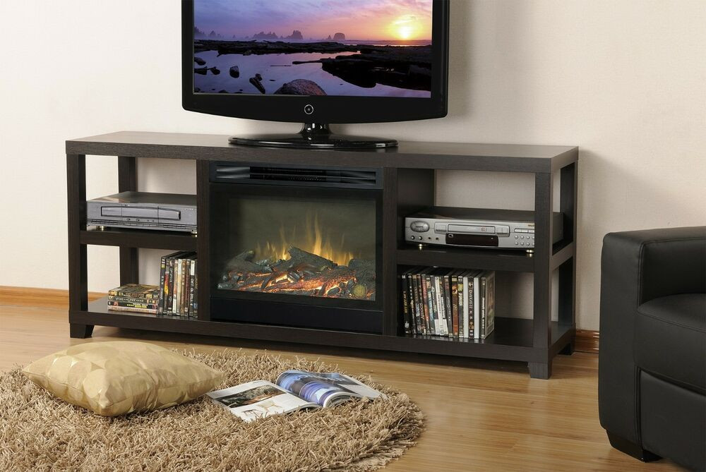 Best ideas about Modern Electric Fireplace Tv Stand . Save or Pin Modern Electric Fireplace Mantel Living Room TV Stand Now.