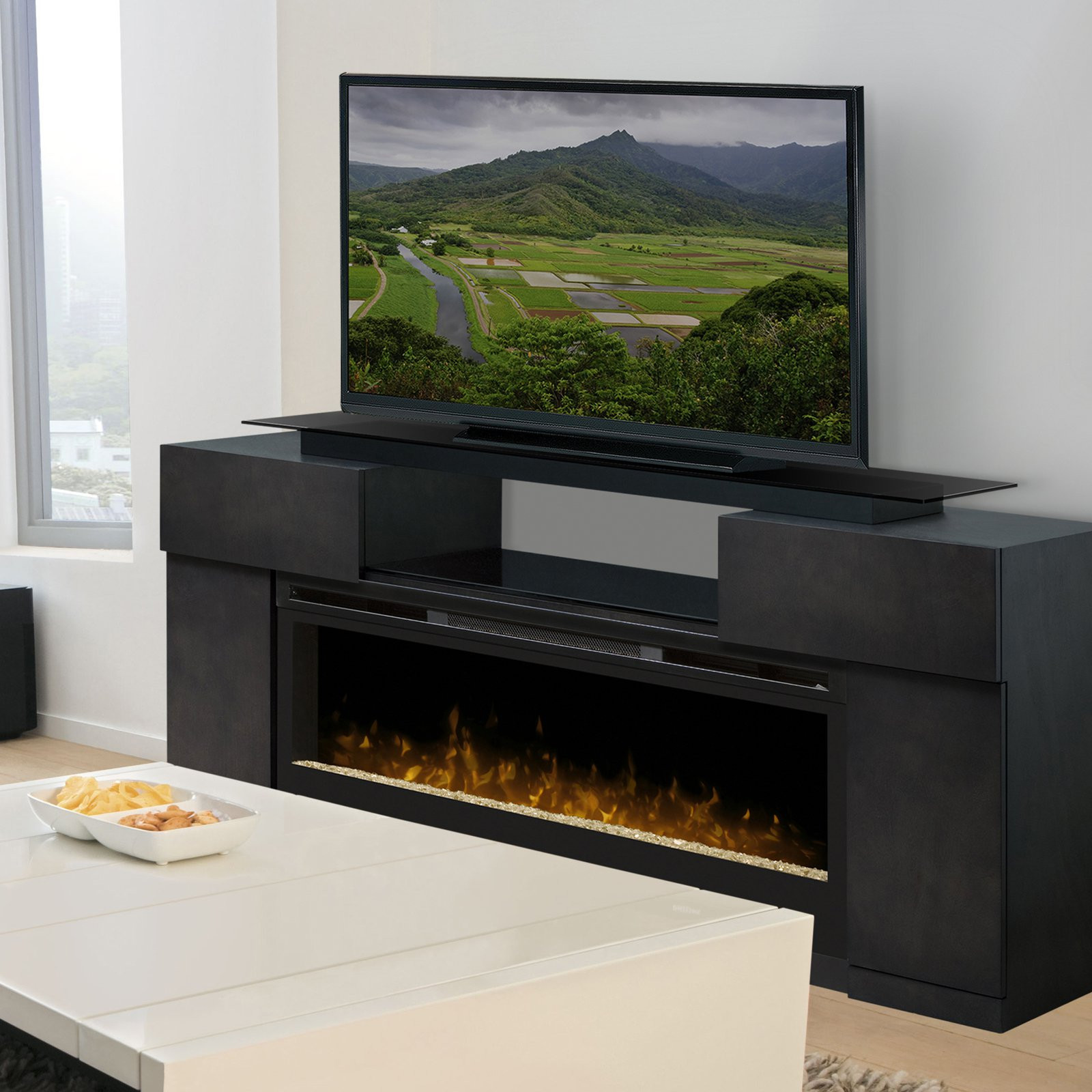 Best ideas about Modern Electric Fireplace Tv Stand . Save or Pin TV Stand With Fireplace Is Right For Your Home — The Now.
