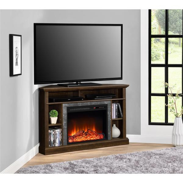 Best ideas about Modern Electric Fireplace Tv Stand . Save or Pin Altra Overland Contemporary Electric Fireplace Corner 50 Now.
