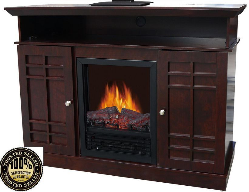 Best ideas about Modern Electric Fireplace Tv Stand . Save or Pin Fireplace TV Stand Electric Heater Entertainment Center Now.