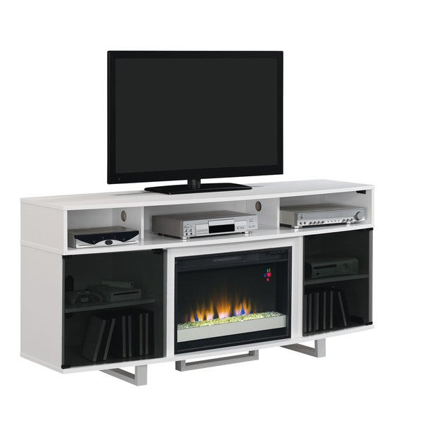 Best ideas about Modern Electric Fireplace Tv Stand . Save or Pin Enterprise Lite Contemporary TV Stand with 26 Inch Now.