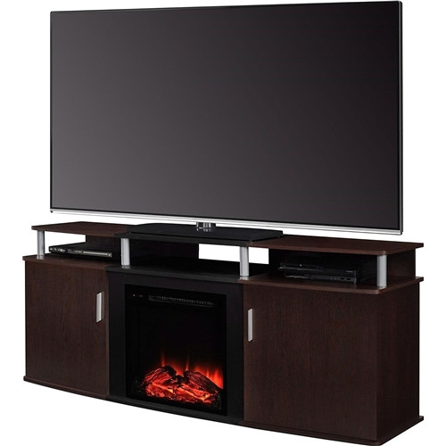 Best ideas about Modern Electric Fireplace Tv Stand . Save or Pin 50 Collection of Cherry Wood TV Stands Now.