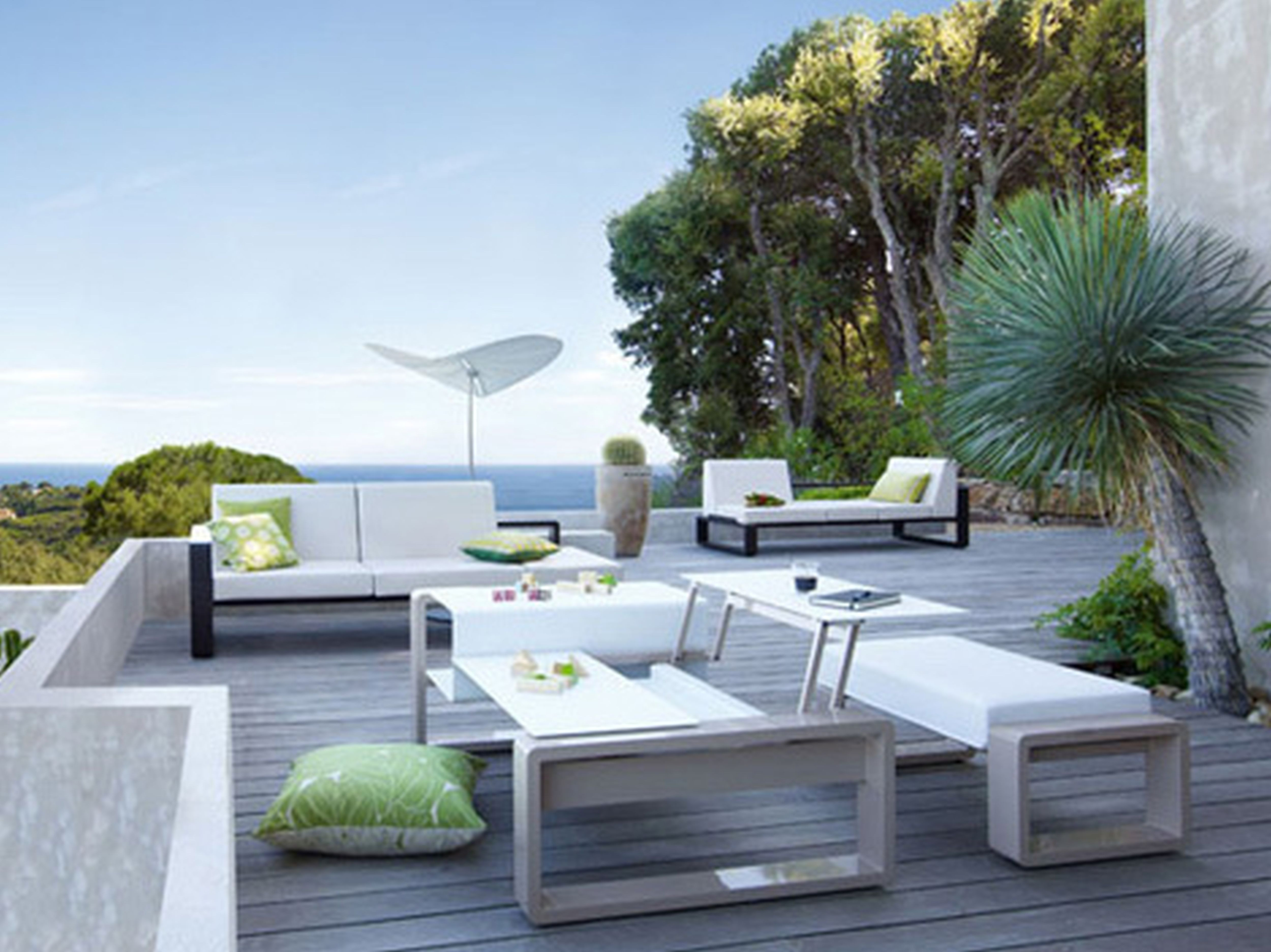 Best ideas about Modern Outdoor Furniture . Save or Pin Modern Patio Furniture with Chic Treatment for Fancy House Now.