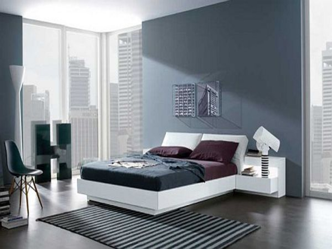 Best ideas about Modern Paint Colors . Save or Pin Colour schemes for bedrooms modern modern bedroom paint Now.