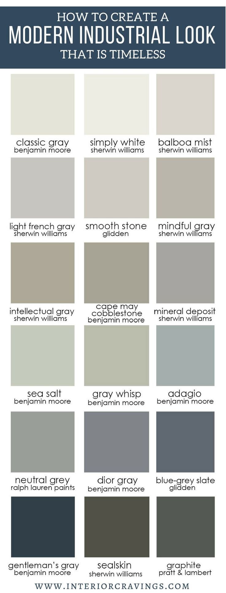 Best ideas about Modern Paint Colors . Save or Pin Best 25 Modern color palette ideas on Pinterest Now.