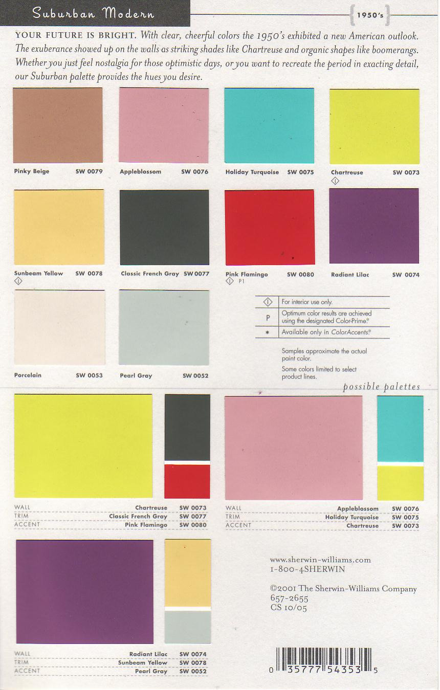 Best ideas about Modern Paint Colors . Save or Pin Mid Century Modern Paint Colors by Sherwin Williams Now.