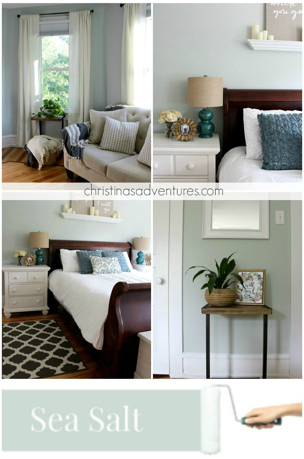 Best ideas about Modern Paint Colors . Save or Pin Our house Modern Farmhouse Paint Colors Christinas Now.