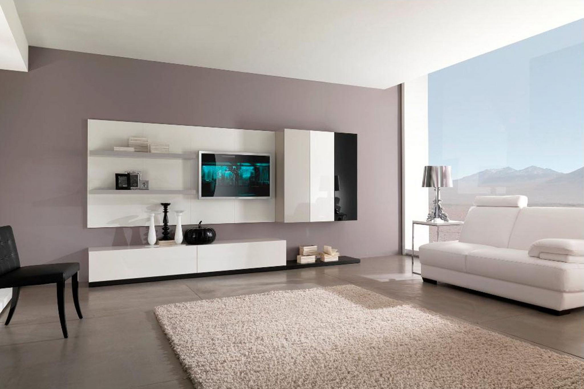 Best ideas about Modern Paint Colors . Save or Pin Paint Ideas for Living Room with Narrow Space TheyDesign Now.