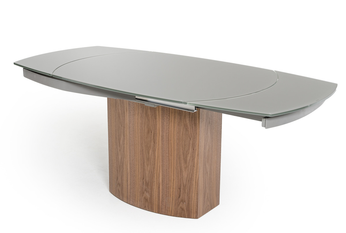 Best ideas about Modern Round Dining Table . Save or Pin Swing Modern Round Extend able Walnut Dining Table Now.
