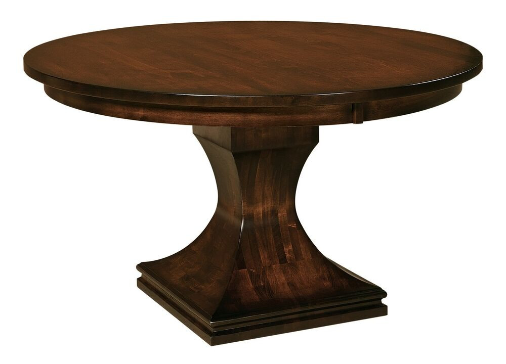 Best ideas about Modern Round Dining Table . Save or Pin Amish Pedestal Dining Table Round Modern Contemporary Now.