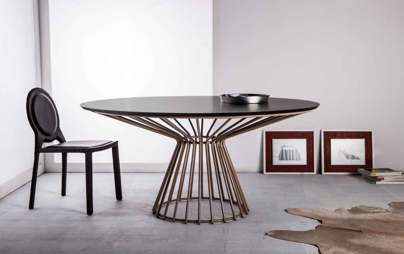 Best ideas about Modern Round Dining Table . Save or Pin Contemporary Round White Dining Table Louisville Kentucky Now.