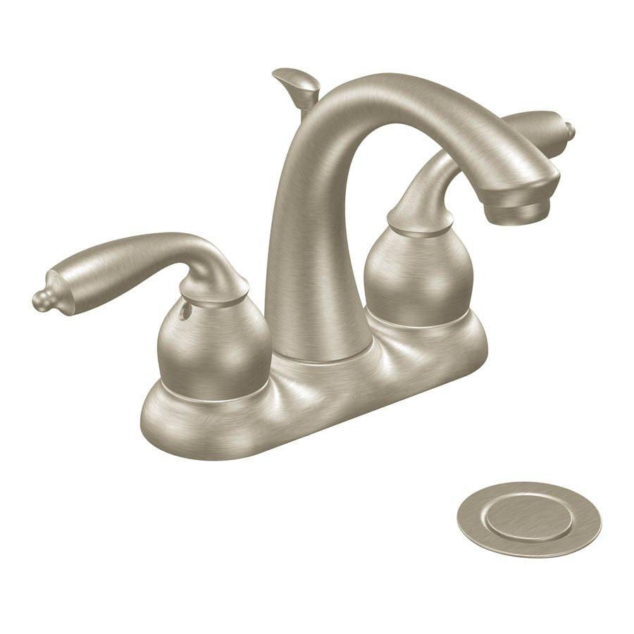 Best ideas about Moen Bathroom Faucets . Save or Pin Moen Bayhill Centerset Watersense Bathroom Sink Faucet Now.