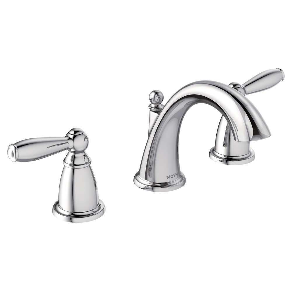 Best ideas about Moen Bathroom Faucets . Save or Pin Moen Brantford Widespread Bathroom Faucet T6620 Chrome Now.