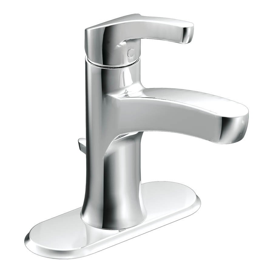 Best ideas about Moen Bathroom Faucets . Save or Pin Moen Danika Chrome 1 Handle Single Hole 4 in Centerset Now.