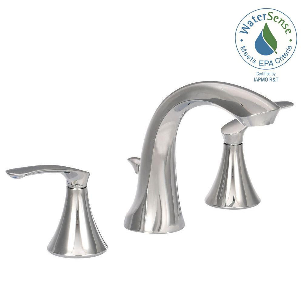 Best ideas about Moen Bathroom Faucets . Save or Pin MOEN Darcy 8 in Widespread 2 Handle High Arc Bathroom Now.