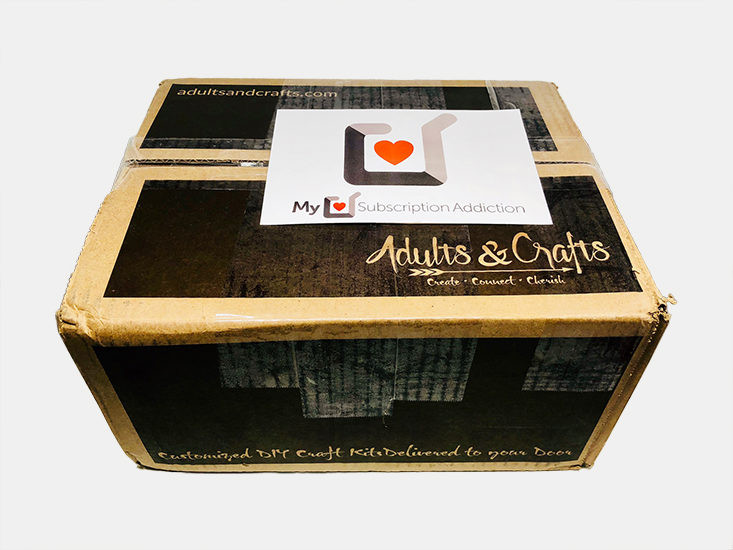 Best ideas about Monthly Craft Box For Adults . Save or Pin Adults & Crafts Box Review Coupon – December 2017 Now.
