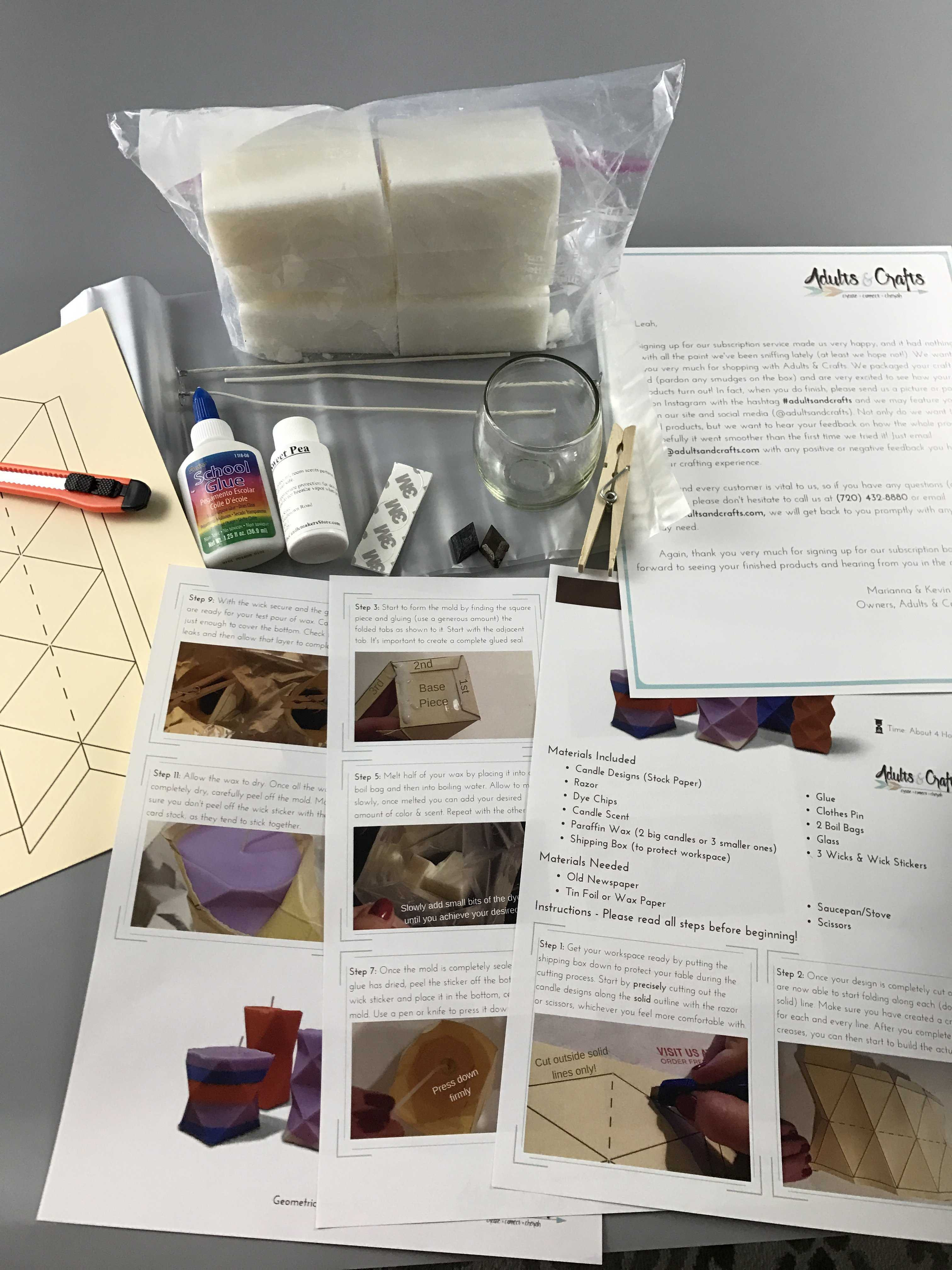 Best ideas about Monthly Craft Box For Adults . Save or Pin Adults & Crafts Hello Subscription Now.
