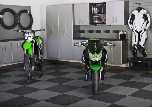 Best ideas about Motorcycle Garage Ideas . Save or Pin 100 Garage Storage Ideas for Men Cool Organization And Now.