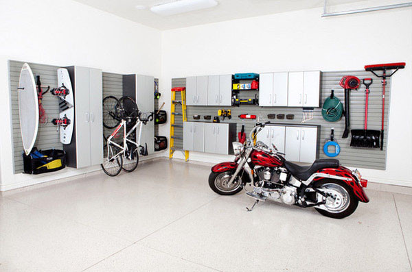 Best ideas about Motorcycle Garage Ideas . Save or Pin dream motorcycle garage 17 Decoist Now.