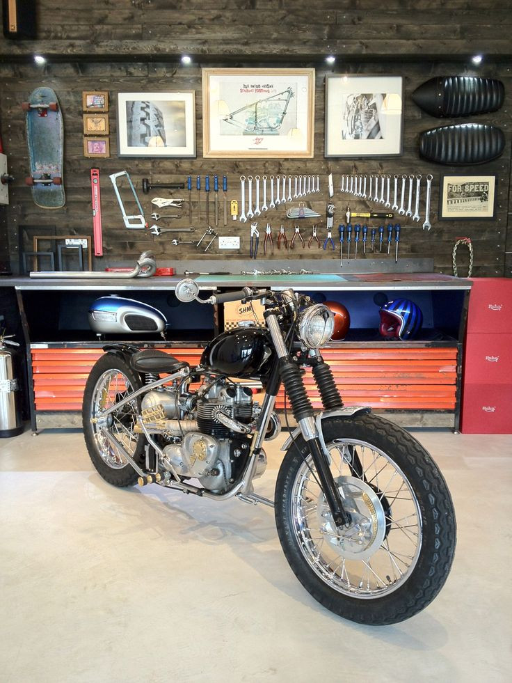 Best ideas about Motorcycle Garage Ideas . Save or Pin Best 25 Motorcycle garage ideas on Pinterest Now.
