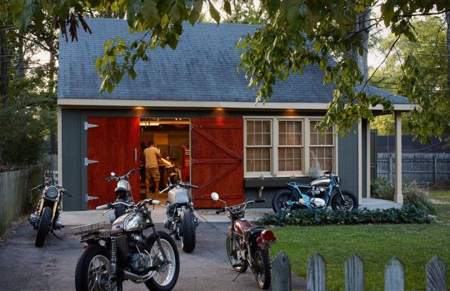 Best ideas about Motorcycle Garage Ideas . Save or Pin Garage Design motorcycle garage Garage Now.