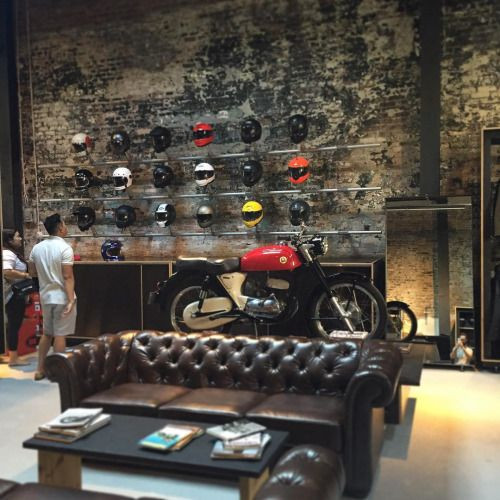 Best ideas about Motorcycle Garage Ideas . Save or Pin 25 best ideas about Motorcycle shop on Pinterest Now.