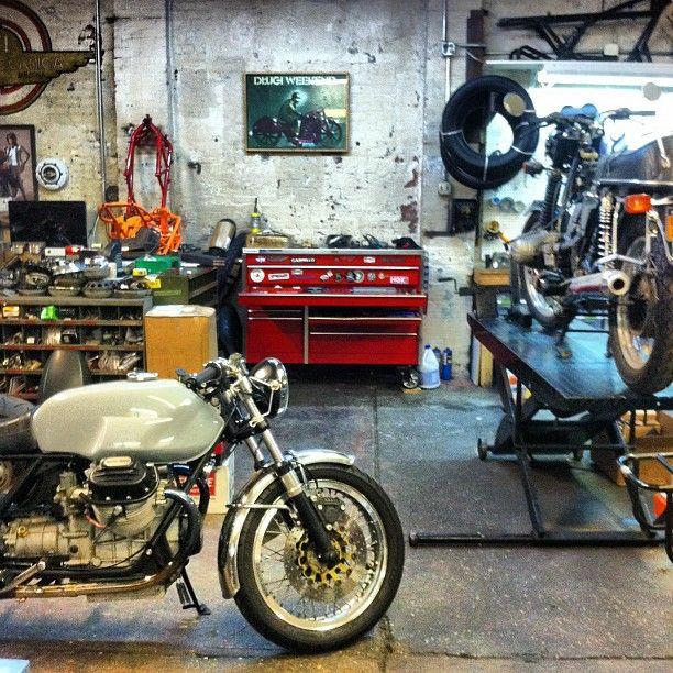 Best ideas about Motorcycle Garage Ideas . Save or Pin m 2 Moto garage Bikes Pinterest Now.