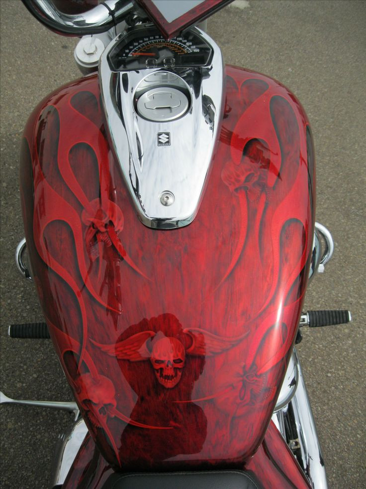 Best ideas about Motorcycle Paint Colors . Save or Pin 25 bästa idéerna om Motorcycle paint jobs på Pinterest Now.
