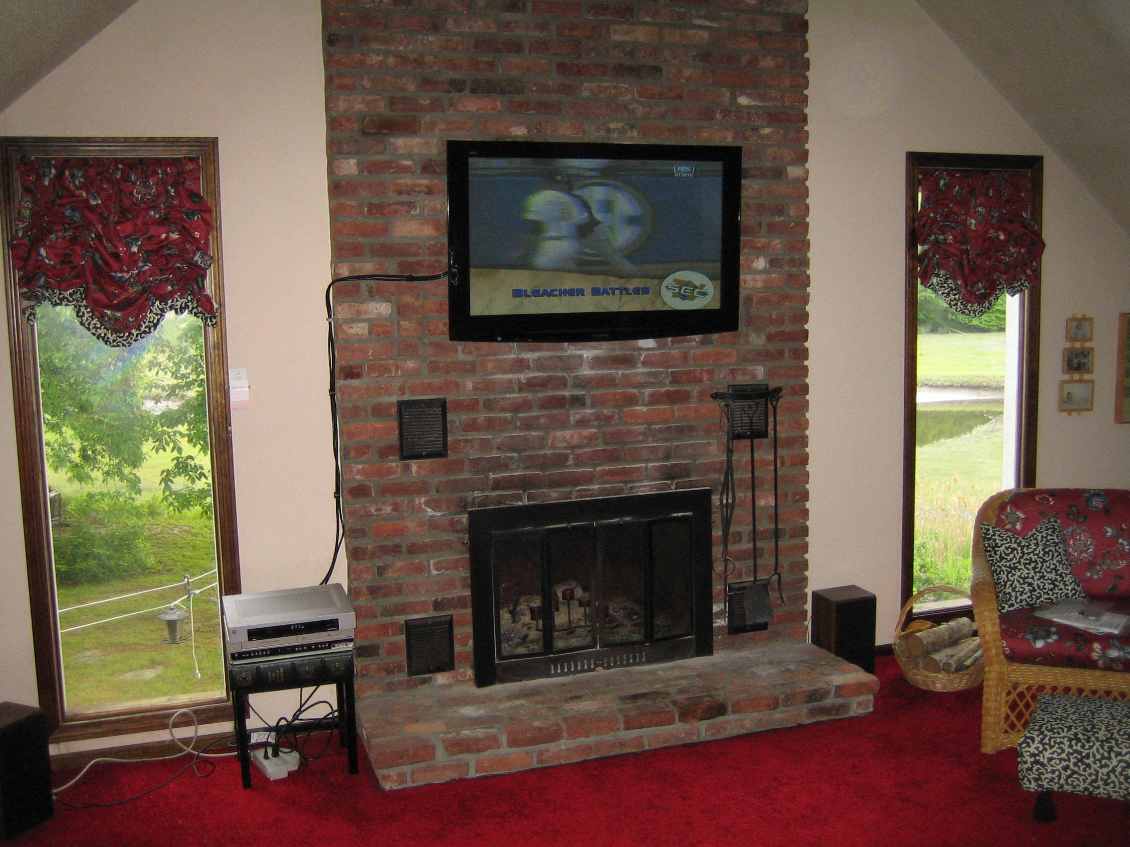 Best ideas about Mounting Tv Above Fireplace . Save or Pin Durham CT mount tv above fireplace Now.