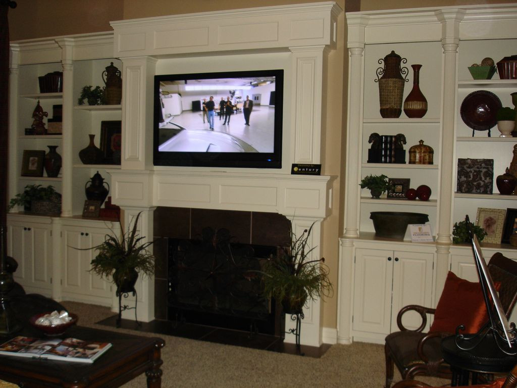 Best ideas about Mounting Tv Above Fireplace . Save or Pin How should I run wiring for my above fireplace mounted TV Now.