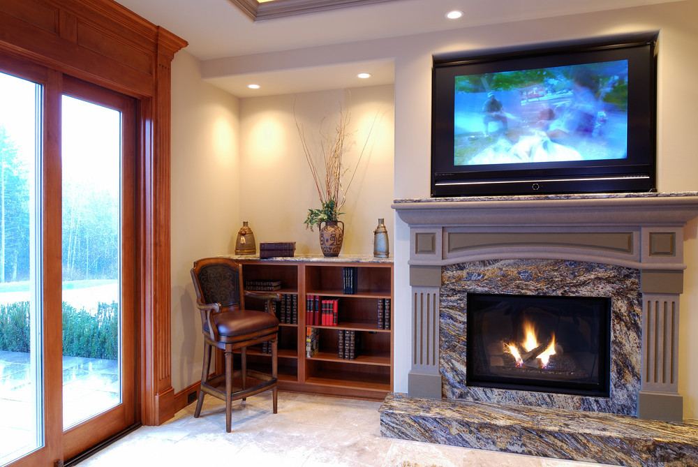 Best ideas about Mounting Tv Above Fireplace . Save or Pin TV Mounting Gallery Now.