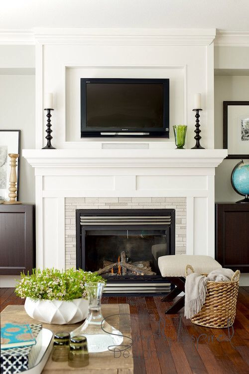 Best ideas about Mounting Tv Above Fireplace . Save or Pin Mounting Your TV Over a Fireplace Design Inspiration Now.