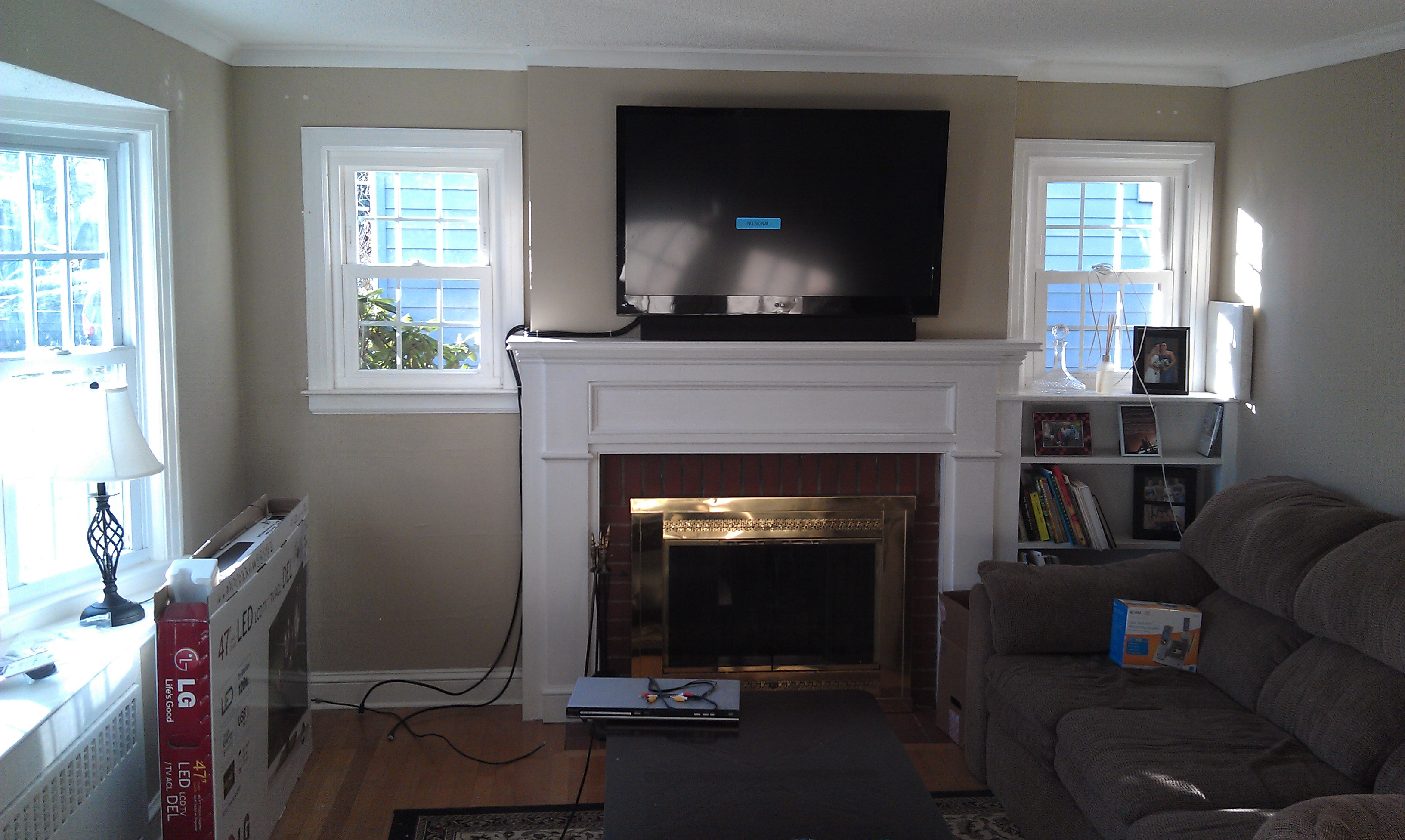 Best ideas about Mounting Tv Above Fireplace . Save or Pin Wethersfield CT mount tv above fireplace Now.