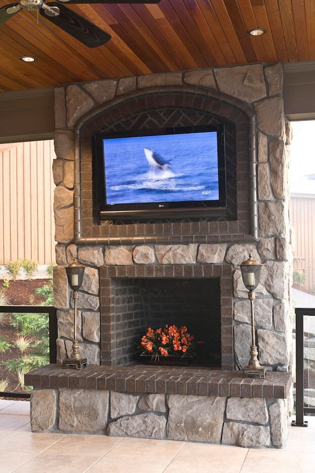 Best ideas about Mounting Tv Above Fireplace . Save or Pin Mounting A TV Over A Fireplace Now.
