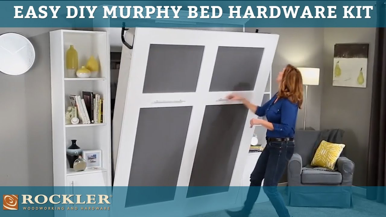 Best ideas about Murphy Bed Hardware Kit DIY . Save or Pin Easier than ever DIY Murphy Bed Hardware Kit Now.