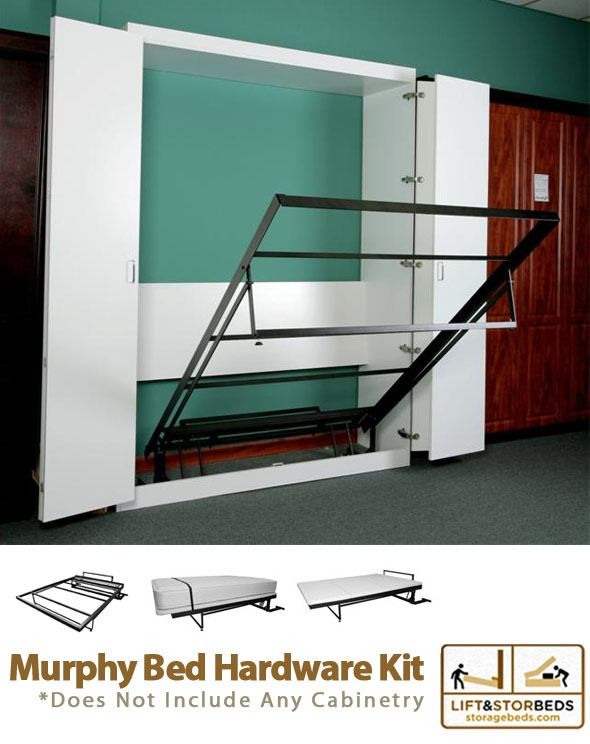 Best ideas about Murphy Bed Hardware Kit DIY . Save or Pin Murphy Bed DIY Hardware Kit By Lift & Stor Beds Now.
