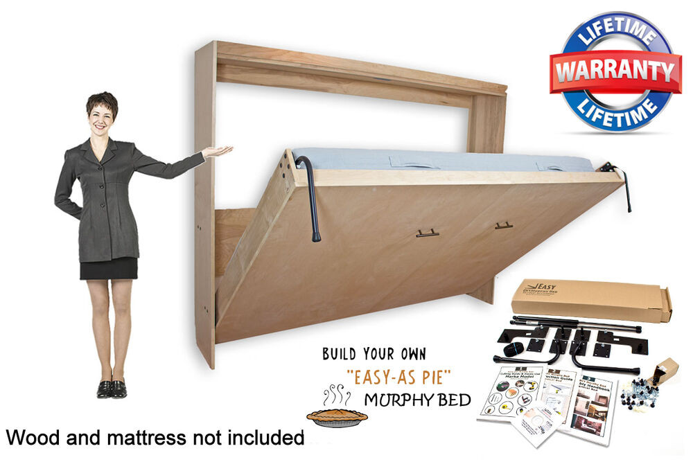 Best ideas about Murphy Bed Hardware Kit DIY . Save or Pin Murphy Wall Bed Hardware DIY Kit Horizontal Wall Mount 3 Now.