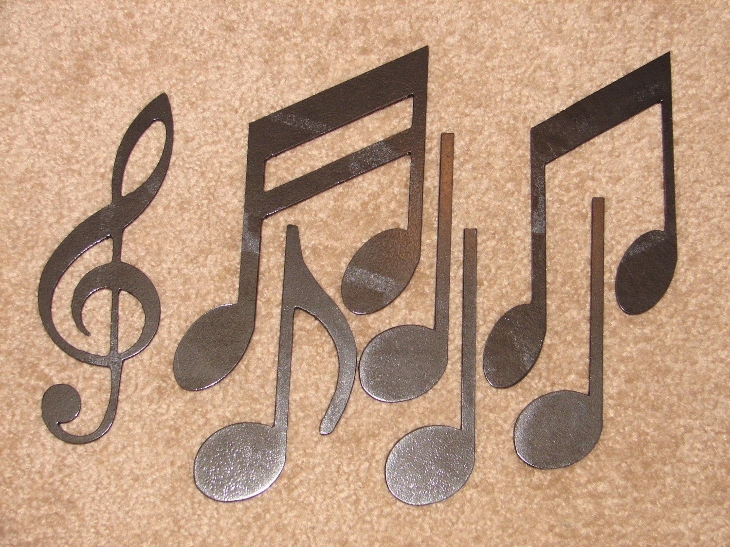 Best ideas about Music Wall Art . Save or Pin Metal Wall Art Decor MUSIC NOTES Musical Note Patio Now.