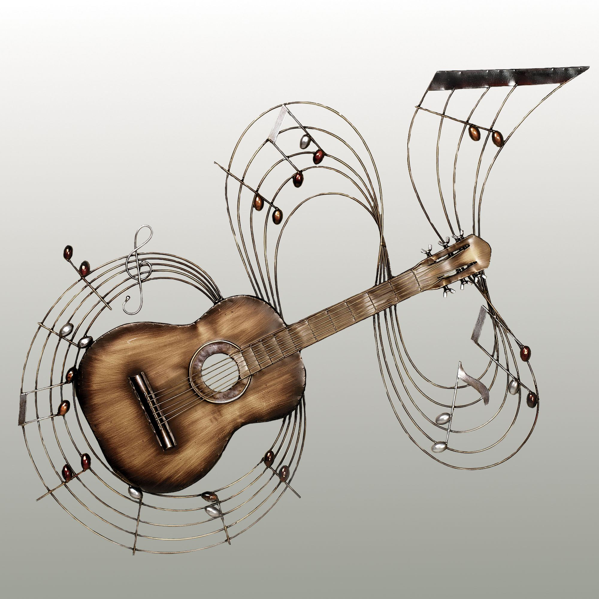 Best ideas about Music Wall Art . Save or Pin Within the Music Guitar Metal Wall Art Now.