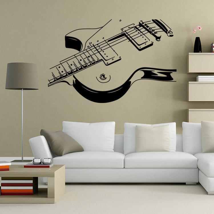 Best ideas about Music Wall Art . Save or Pin GUITAR Music Wall Art Decal Decor Vinyl Dance Musical Now.