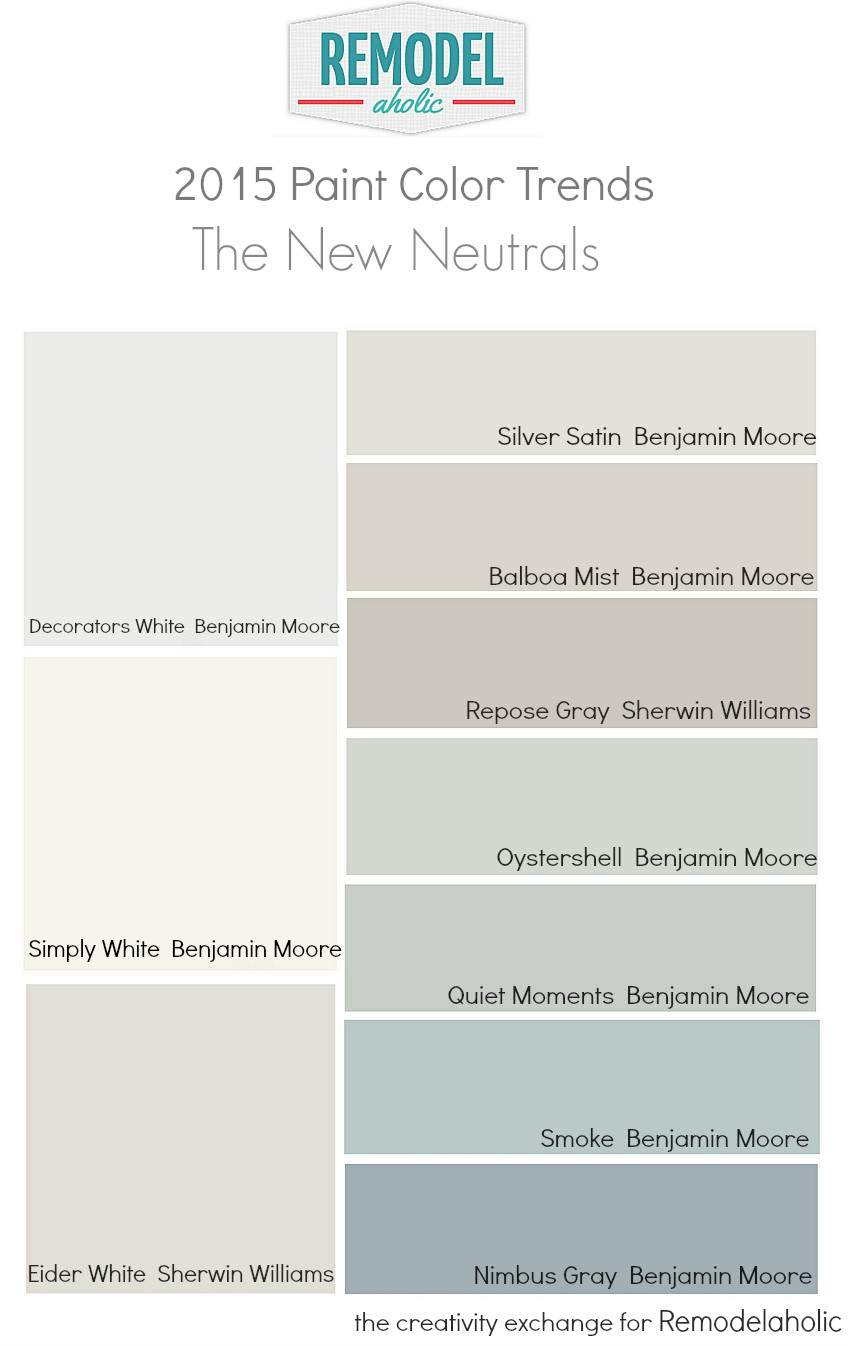 Best ideas about Neutral Paint Colors . Save or Pin Remodelaholic Now.